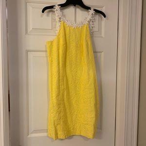 Lilly Pulitzer size 6 yellow dress